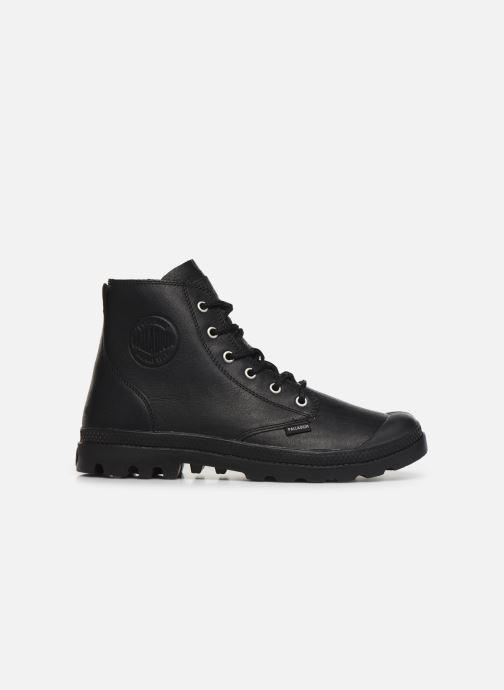 Ankle boots Palladium Pampa Hi LTH UL Black back view