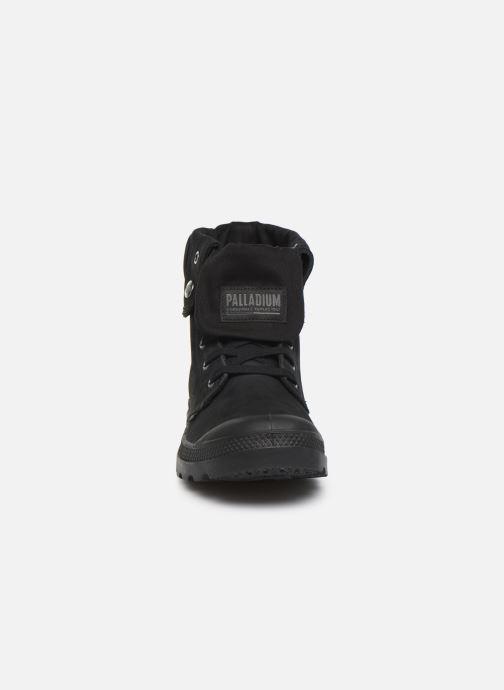 Baskets Palladium Pampa Baggy NBK Noir vue portées chaussures