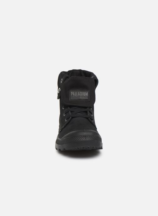 Trainers Palladium Pampa Baggy NBK Black model view
