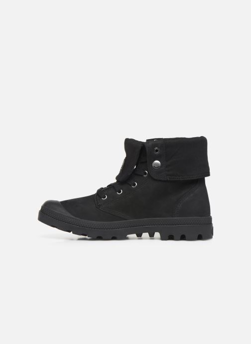 Baskets Palladium Pampa Baggy NBK Noir vue face
