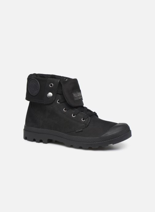 Trainers Palladium Pampa Baggy NBK Black detailed view/ Pair view