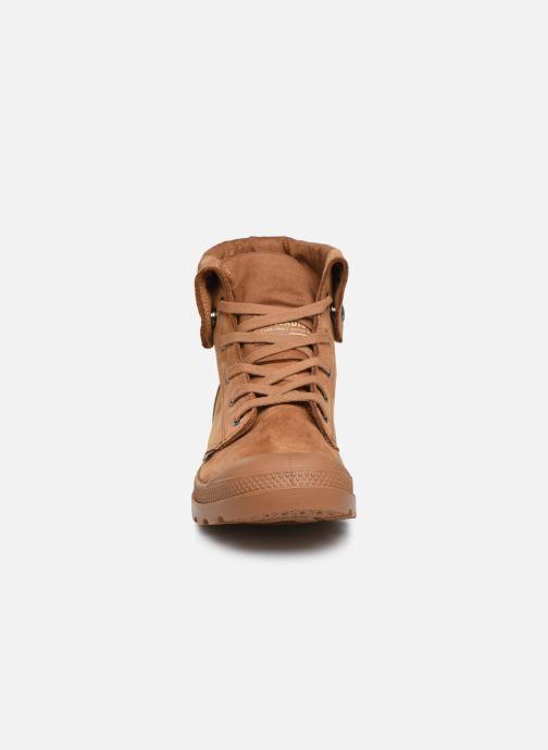 Sneaker Palladium Pampa Baggy NBK braun schuhe getragen