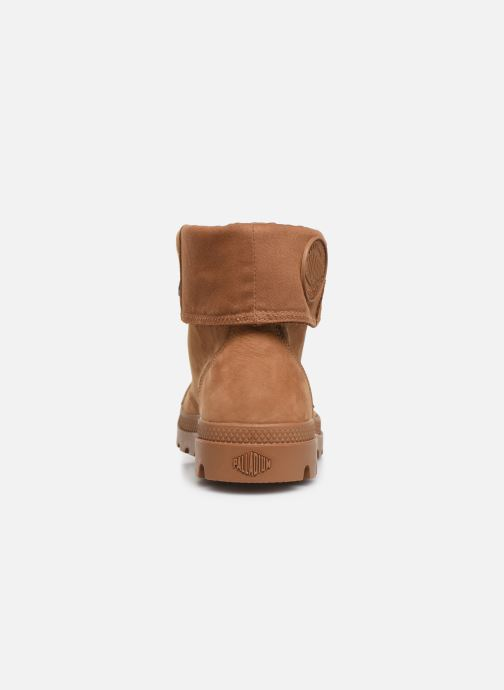 Trainers Palladium Pampa Baggy NBK Brown view from the right