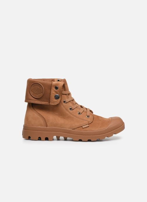 Trainers Palladium Pampa Baggy NBK Brown back view
