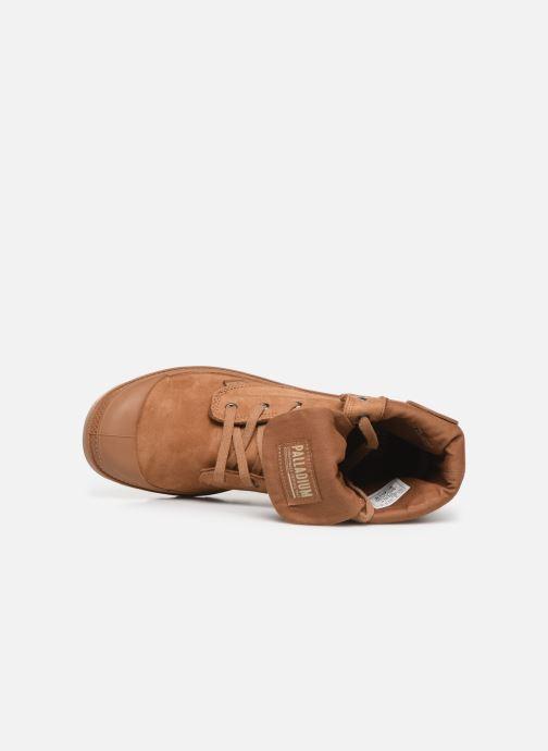 Sneaker Palladium Pampa Baggy NBK braun ansicht von links