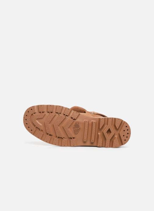 Sneaker Palladium Pampa Baggy NBK braun ansicht von oben