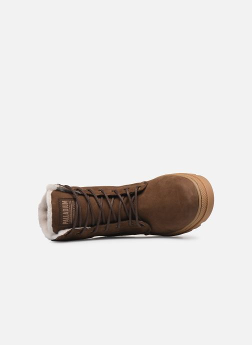 Ankle boots Palladium Pallabosse SC WPS Brown view from the left