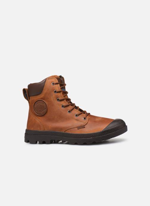 Bottines et boots Palladium Pampa Cuff WP Lux Marron vue derrière