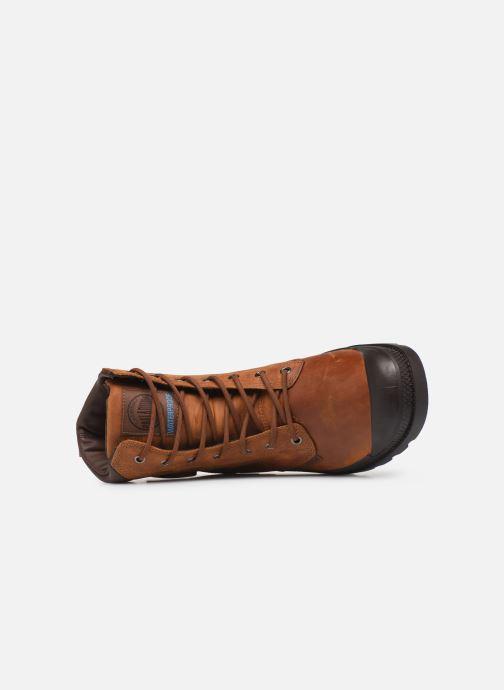 Bottines et boots Palladium Pampa Cuff WP Lux Marron vue gauche