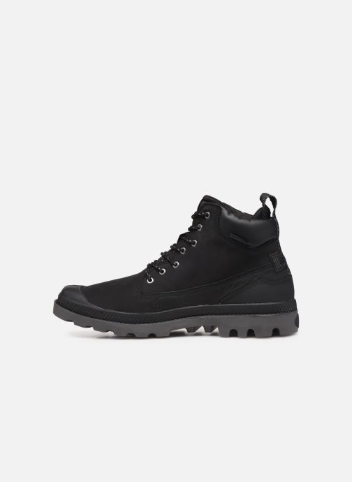 Bottines et boots Palladium Pampa SC Outsider WP+ Noir vue face