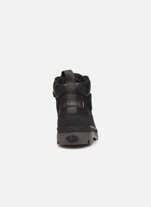 Bottines et boots Palladium Pampa SC Outsider WP+ Noir vue droite