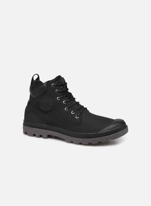 Bottines et boots Palladium Pampa SC Outsider WP+ Noir vue détail/paire