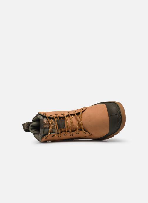 Stiefeletten & Boots Palladium Pampa SC Outsider WP+ braun ansicht von links