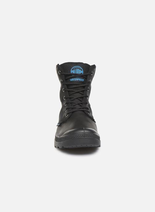 Bottines et boots Palladium Pampa Sport Cuff WPN Noir vue portées chaussures