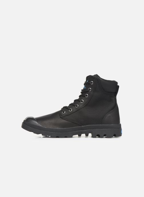 Bottines et boots Palladium Pampa Sport Cuff WPN Noir vue face