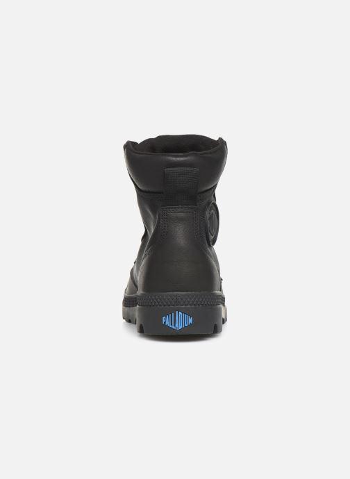 Bottines et boots Palladium Pampa Sport Cuff WPN Noir vue droite
