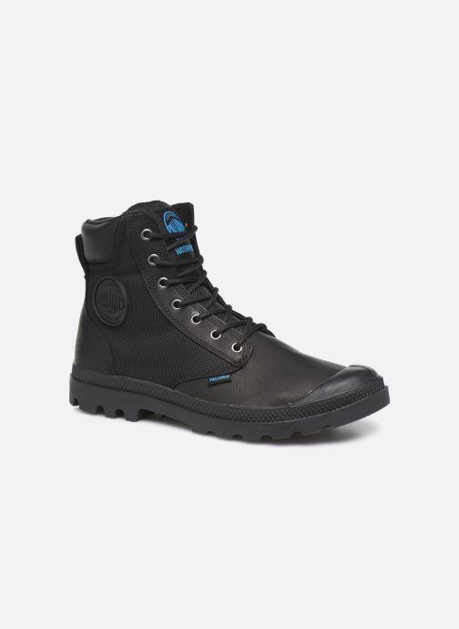 Ankelstøvler Palladium Pampa Sport Cuff WPN Sort detaljeret billede af skoene