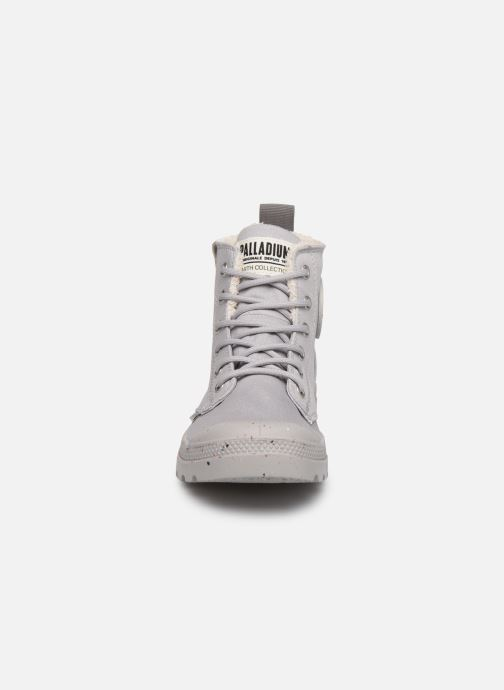 Sneaker Palladium Pampa Earth W grau schuhe getragen