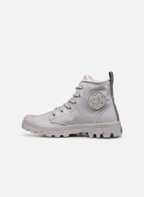 Sneaker Palladium Pampa Earth W grau ansicht von vorne