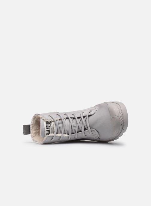 Sneaker Palladium Pampa Earth W grau ansicht von links