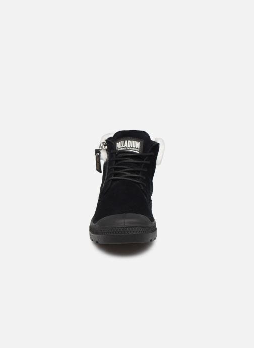 Bottines et boots Palladium Pampa LP Moscow Noir vue portées chaussures