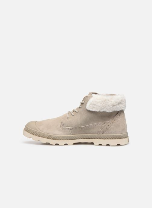 Bottines et boots Palladium Pampa LP Moscow Gris vue face