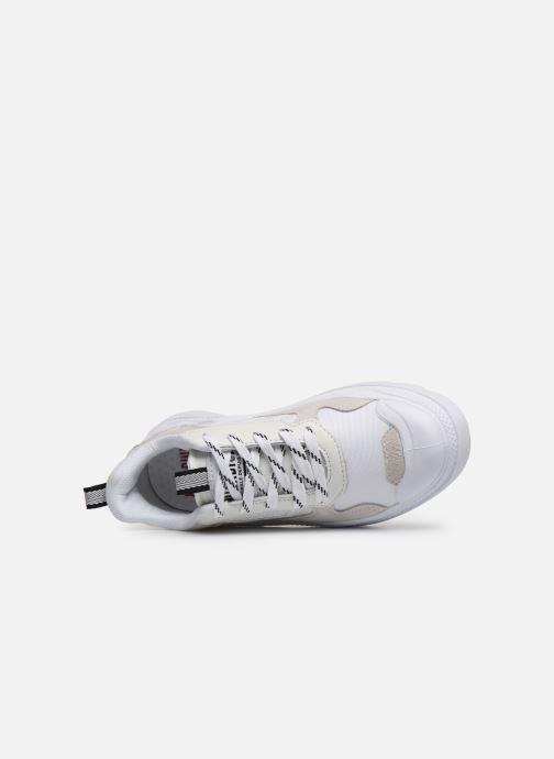 Sneakers Palladium Pallakix 90 Low Bianco immagine sinistra