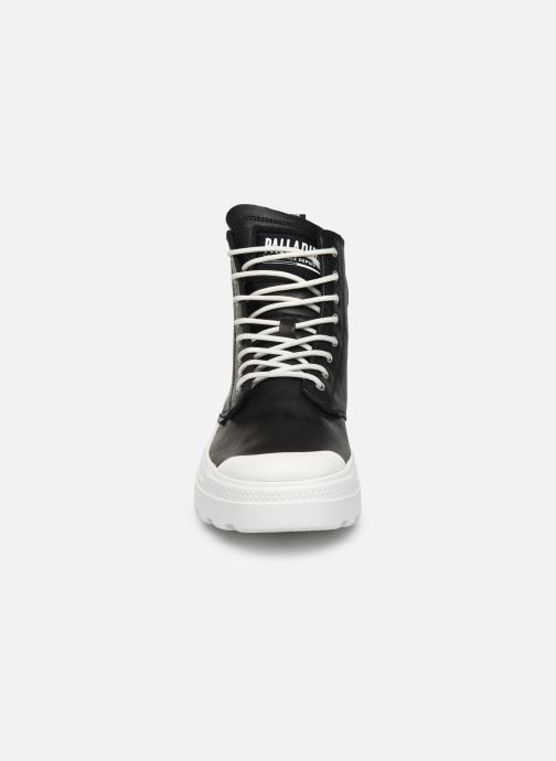 Sneaker Palladium Pallakix Mid SK schwarz schuhe getragen