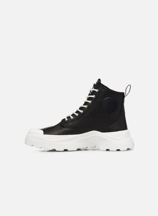 Sneaker Palladium Pallakix Mid SK schwarz ansicht von vorne