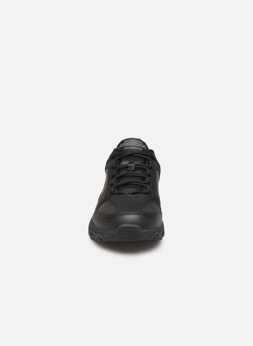 Sportschuhe Skechers Oak Canyon Redwick schwarz schuhe getragen