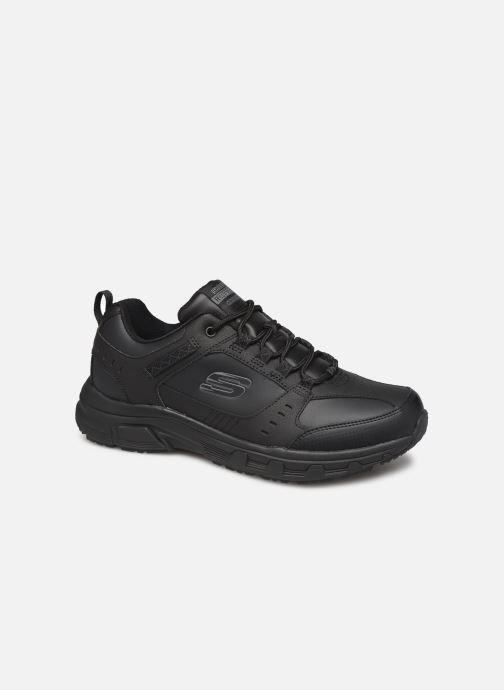 Sportssko Skechers Oak Canyon Redwick Sort detaljeret billede af skoene