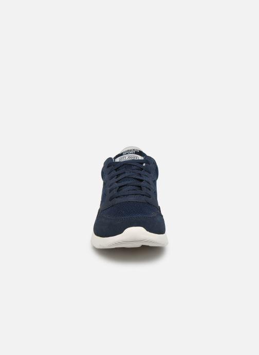 Chaussures de sport Skechers City Jogger Bleu vue portées chaussures