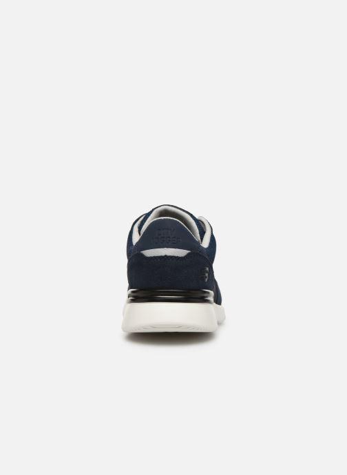 Chaussures de sport Skechers City Jogger Bleu vue droite