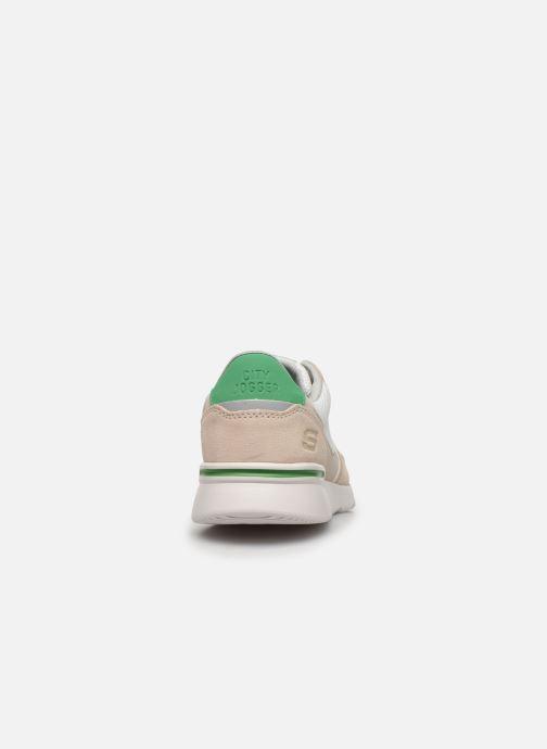 Chaussures de sport Skechers City Jogger Blanc vue droite