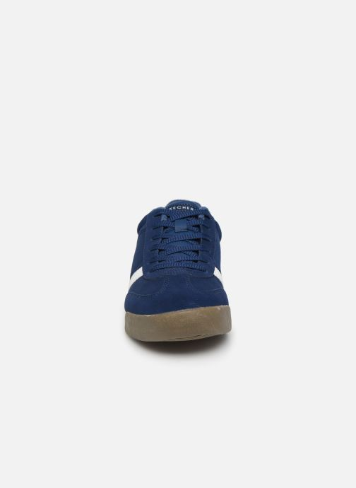 Sneaker Skechers Zinger Ventich blau schuhe getragen