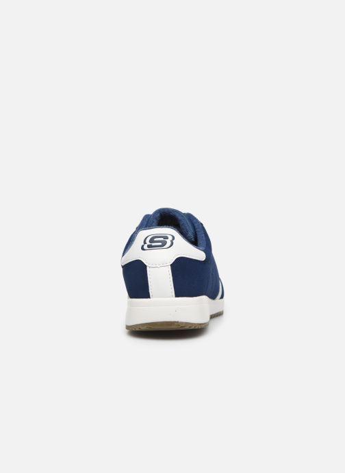 Sneaker Skechers Zinger Ventich blau ansicht von rechts