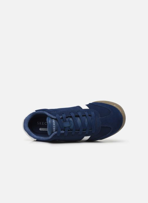 Sneaker Skechers Zinger Ventich blau ansicht von links