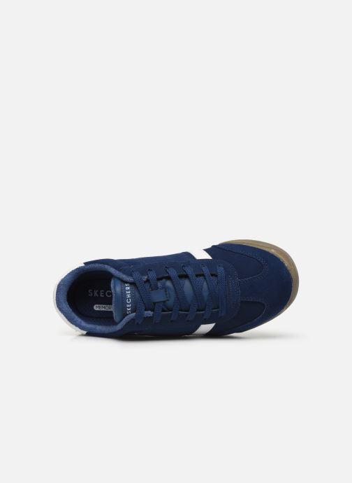 Sneakers Skechers Zinger Ventich Blauw links