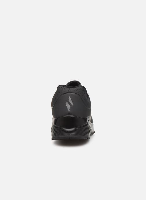 Zapatillas de deporte Skechers Uno Stand On Air Negro vista lateral derecha