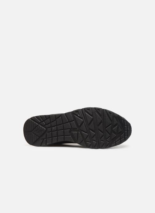 Chaussures de sport Skechers Uno Stand On Air Noir vue haut