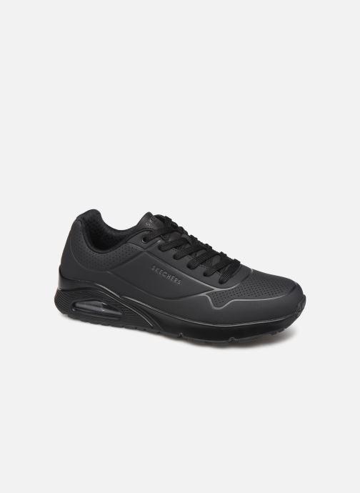 Chaussures de sport Skechers Uno Stand On Air Noir vue détail/paire