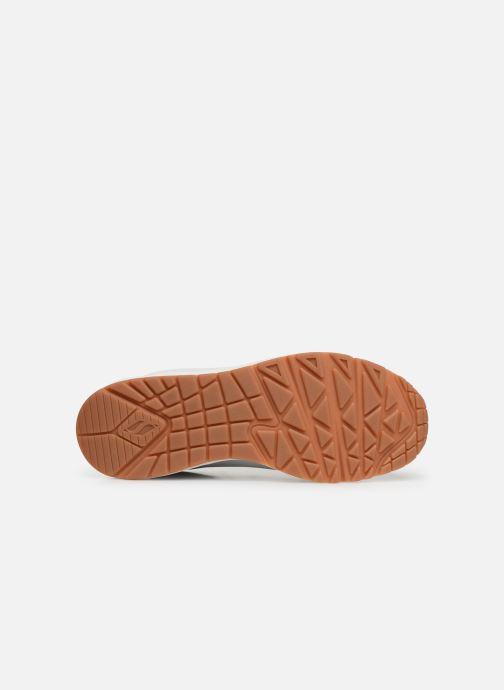 Zapatillas de deporte Skechers Uno Stand On Air Blanco vista de arriba