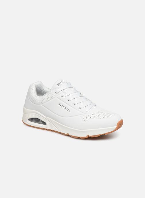 Sportssko Skechers Uno Stand On Air Hvid detaljeret billede af skoene