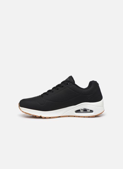 Chaussures de sport Skechers Uno Stand On Air Noir vue face