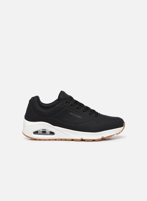 Chaussures de sport Skechers Uno Stand On Air Noir vue derrière