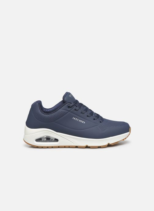 Chaussures de sport Skechers Uno Stand On Air Bleu vue derrière