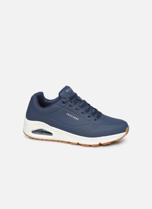 Chaussures de sport Skechers Uno Stand On Air Bleu vue détail/paire