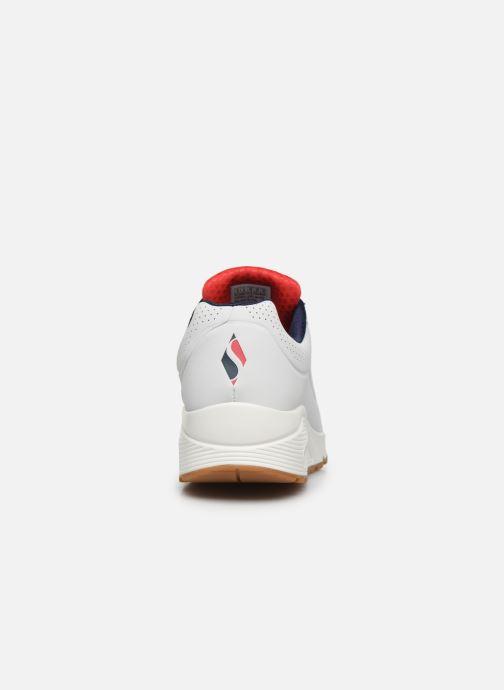 Chaussures de sport Skechers Uno Stand On Air Blanc vue droite