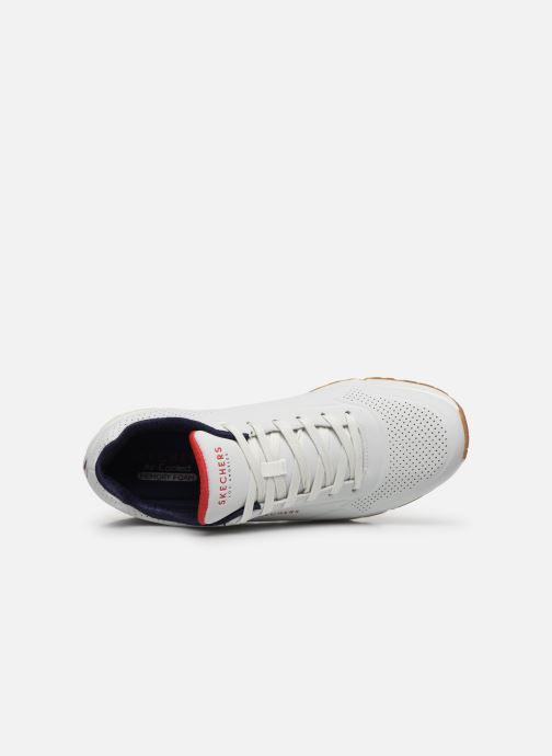 Chaussures de sport Skechers Uno Stand On Air Blanc vue gauche