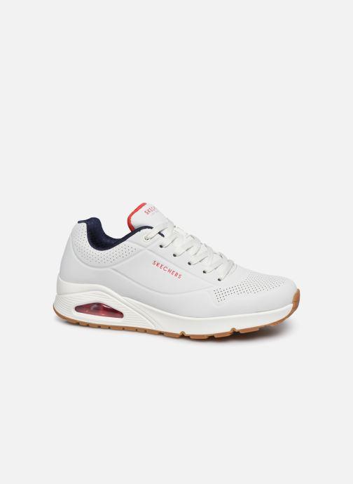 Chaussures de sport Skechers Uno Stand On Air Blanc vue détail/paire